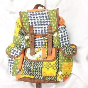Mossimo Patchwork Backpack